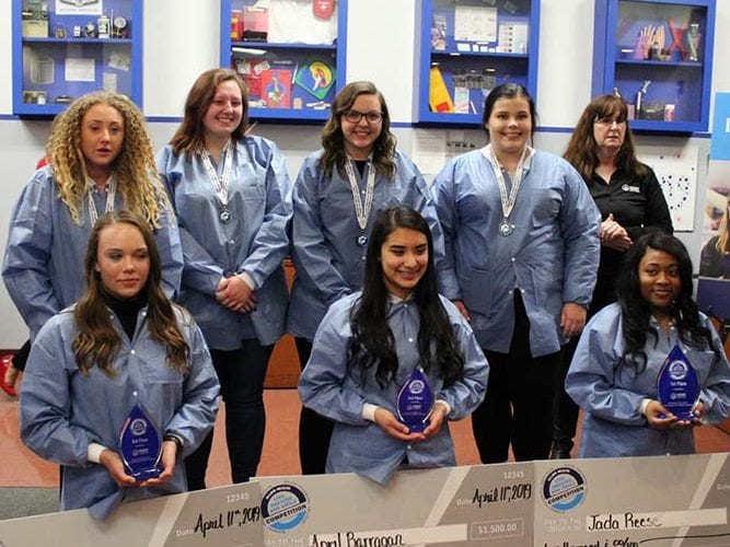 High School Students Awarded Scholarships in Allied Health Competition hosted by Midwest Technical Institute