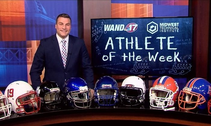 MTI and WAND Athlete of the Week