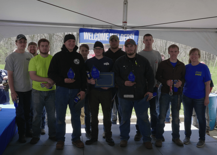 Regional High School Welding Competition (Illinois)