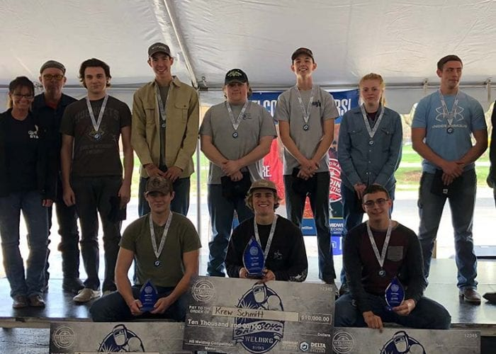 Springfield, MO-Area High School Students Awarded Scholarships for Welding Skills in Regional Competition hosted by Midwest Technical Institute