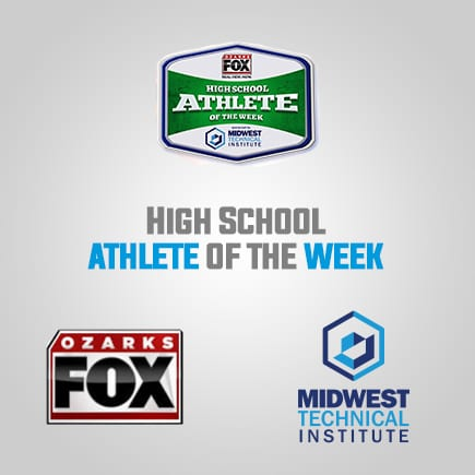 Ozark's High School Athlete of the Week Sponsored by Midwest Technical Institute