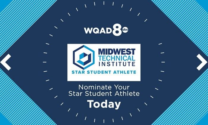 MTI Star Student Athlete with WQAD