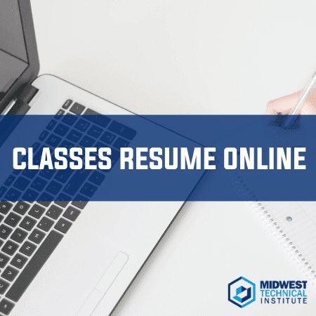 MTI Resumes Current Classes Online